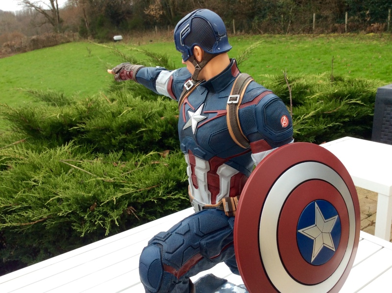 IRON STUDIOS: CAPTAIN AMERICA AVENGERS AGE OF ULTRON LEGACY 1/4 SCALE - Page 7 Image18