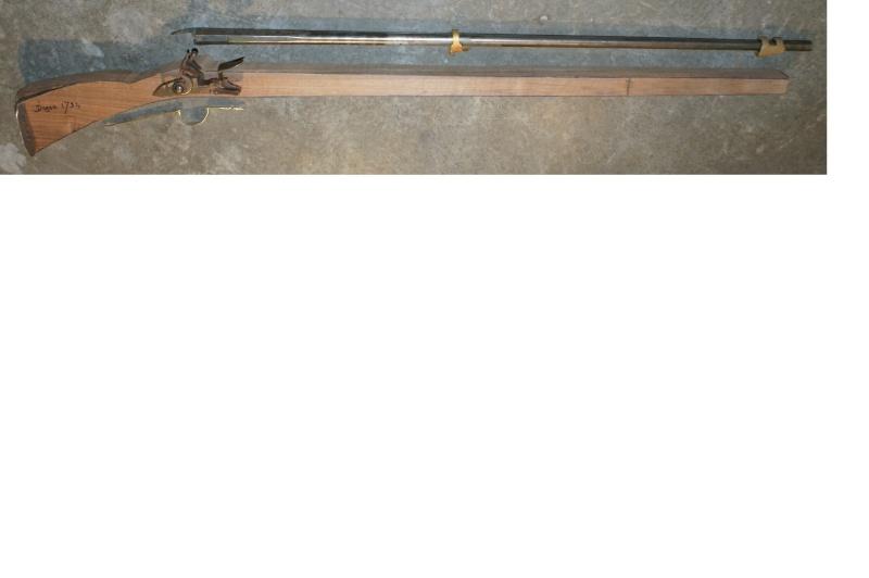 reconstruction mousqueton de cavalerie 1734 Ebauch10