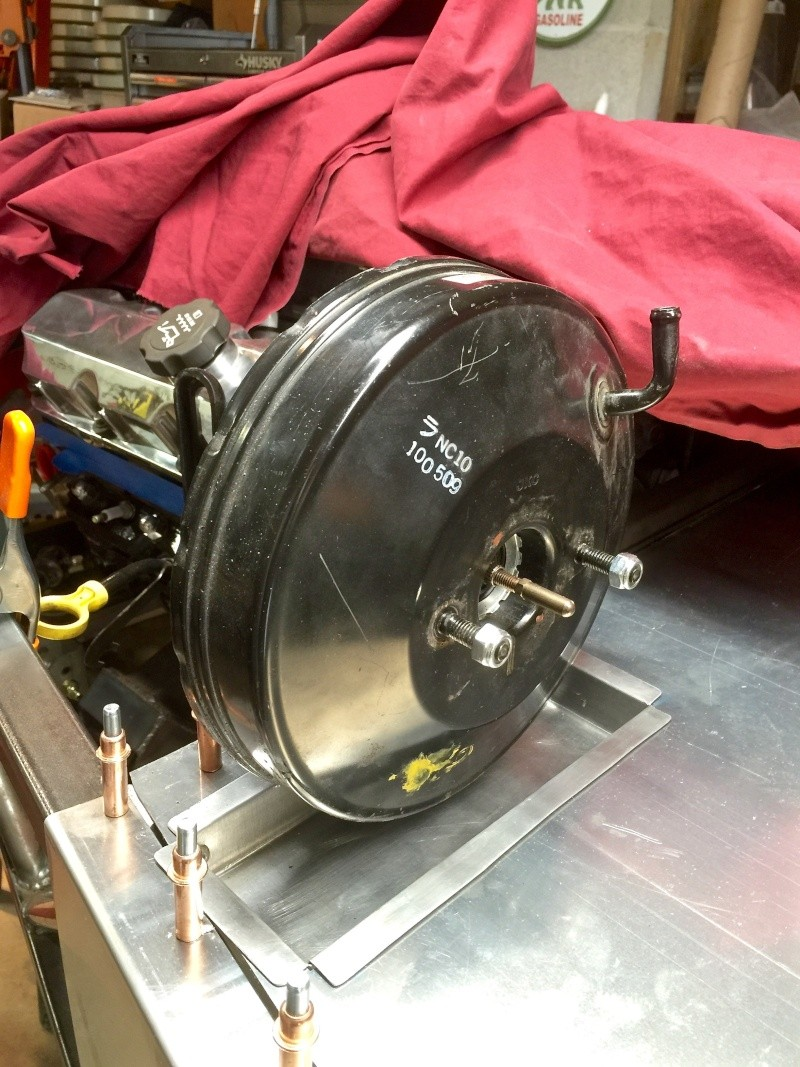 Classic R #27 Build - Brake Booster, Dash, Pedals and Steering Brake-13