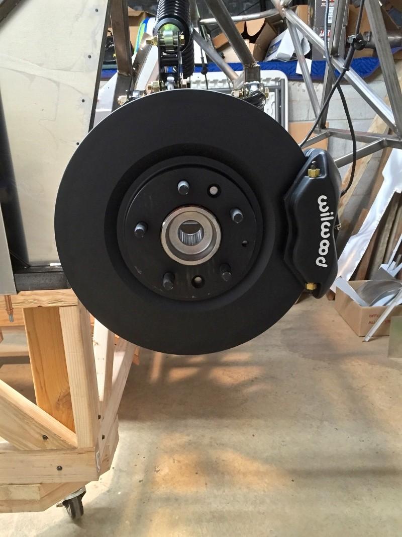 Classic R #27 Build - Hubs, Calipers, Flexible Brake Hoses Calipe10
