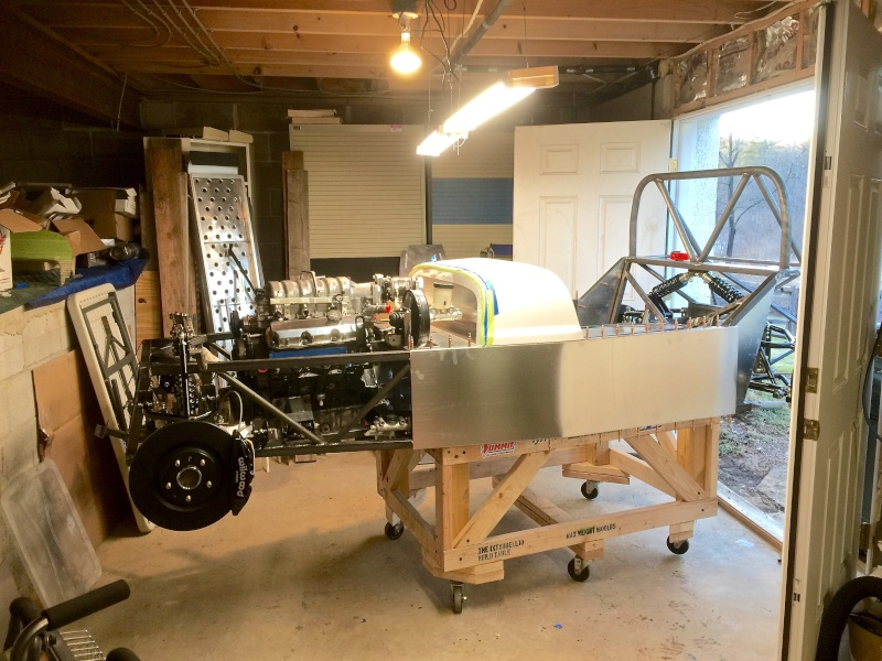 Classic R #27 Build - Brake Booster, Dash, Pedals and Steering Moving10