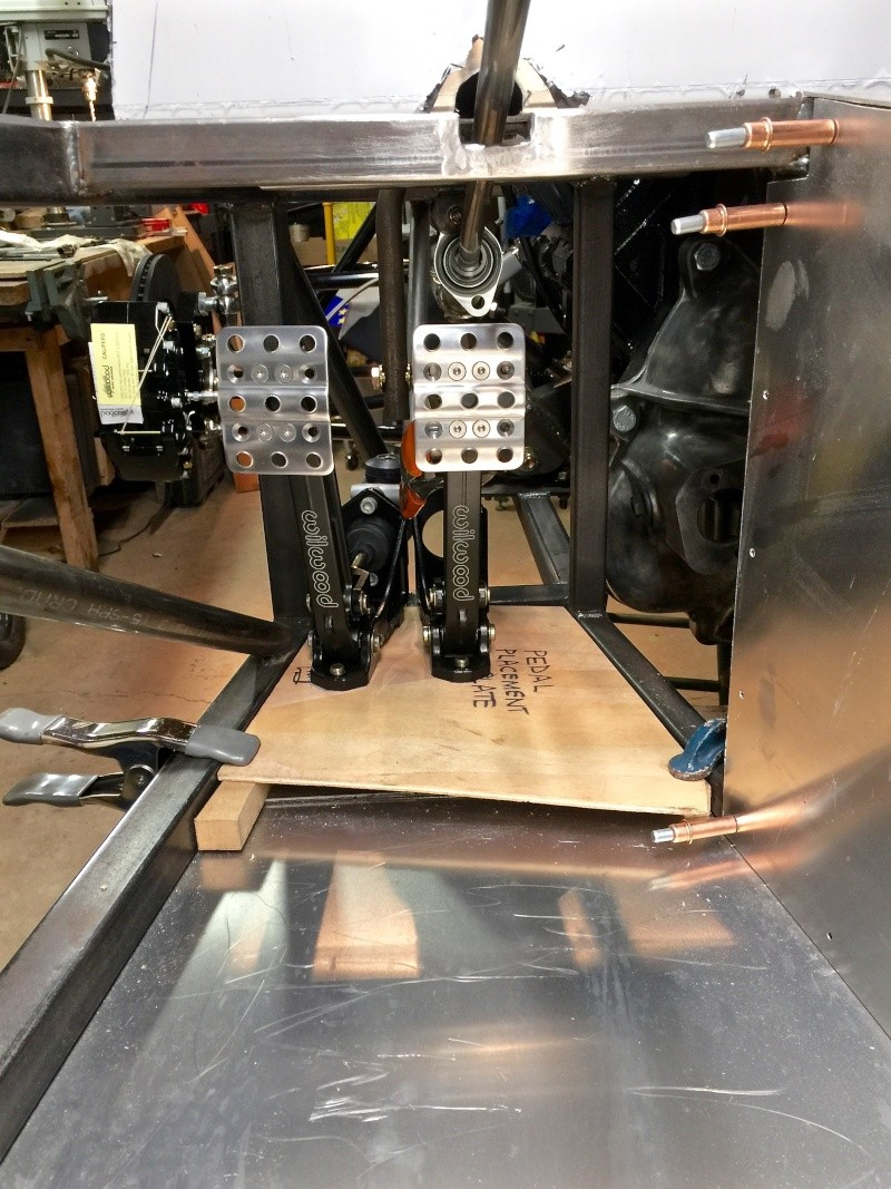 Classic R #27 Build - Brake Booster, Dash, Pedals and Steering Pedals15