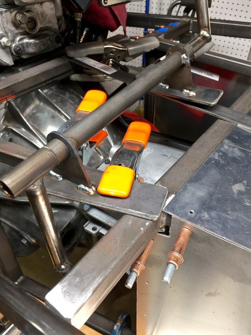 Classic R #27 Build - Brake Booster, Dash, Pedals and Steering Pedals19