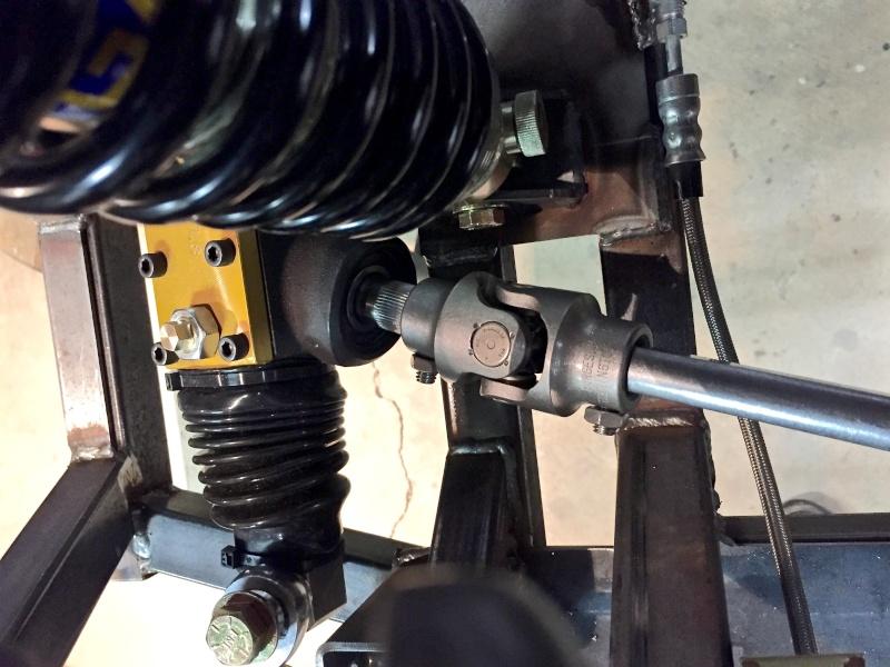 Classic R #27 Build - Steering Shaft Steeri14