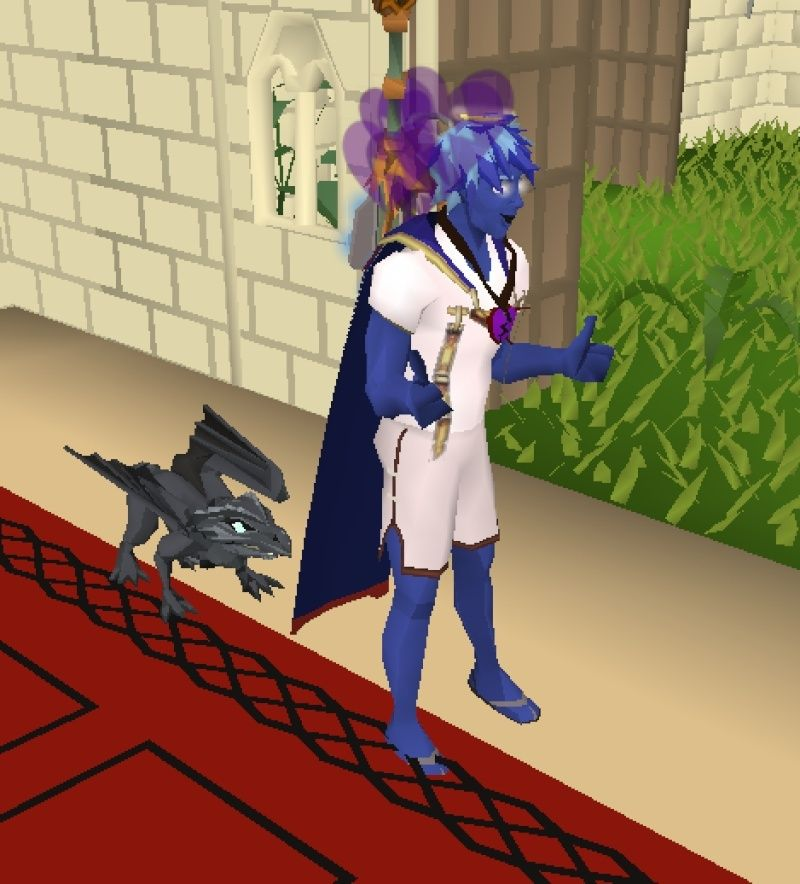 99 Strength and a Baby Black Dragon pet Screen14