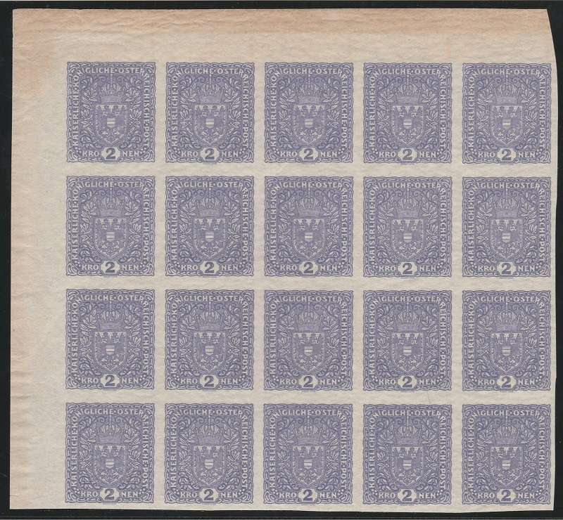 FLUGPOSTMARKEN-AUSGABE 1918  20_blo13
