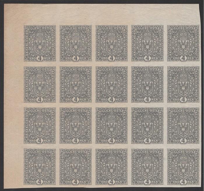 FLUGPOSTMARKEN-AUSGABE 1918  20_blo14