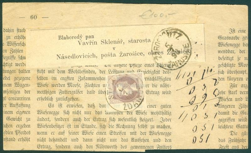 DIE ZEITUNGSMARKEN AUSGABE 1867 1867_z11
