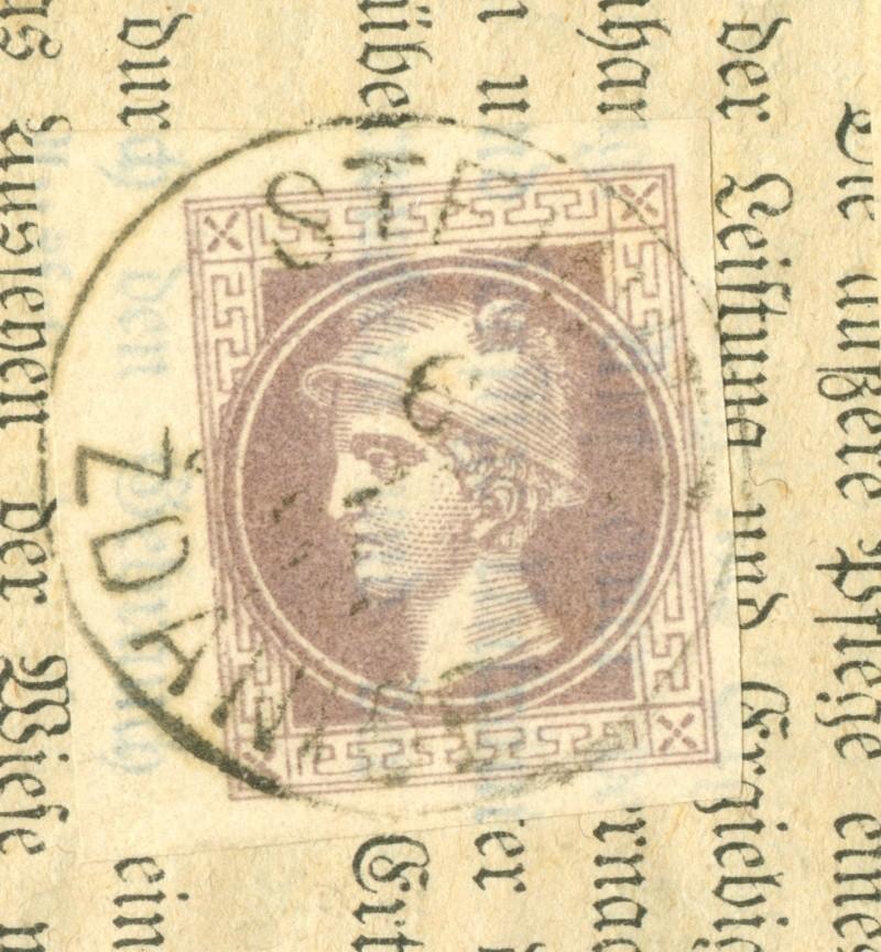 DIE ZEITUNGSMARKEN AUSGABE 1867 1867_z12