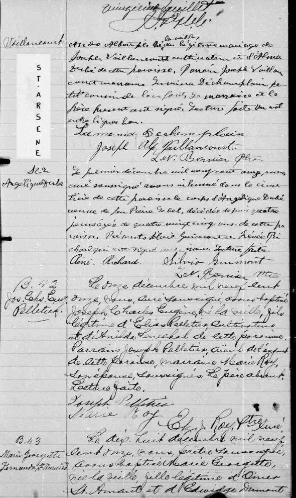 Lebel, Les morts meurent 2 fois à St-Arsène 1911_p10