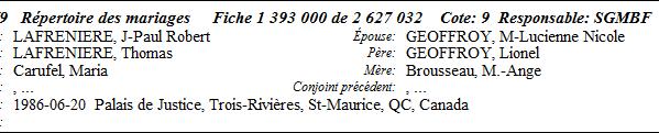 Laperrière-naissance décès Secion10