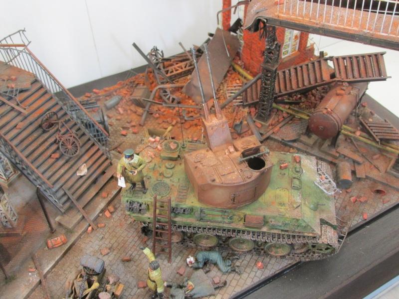 Flakpanzer V Coelian - Dragon 1/35 ref 9022 - photodécoupe Eduard - Page 10 Berlin14