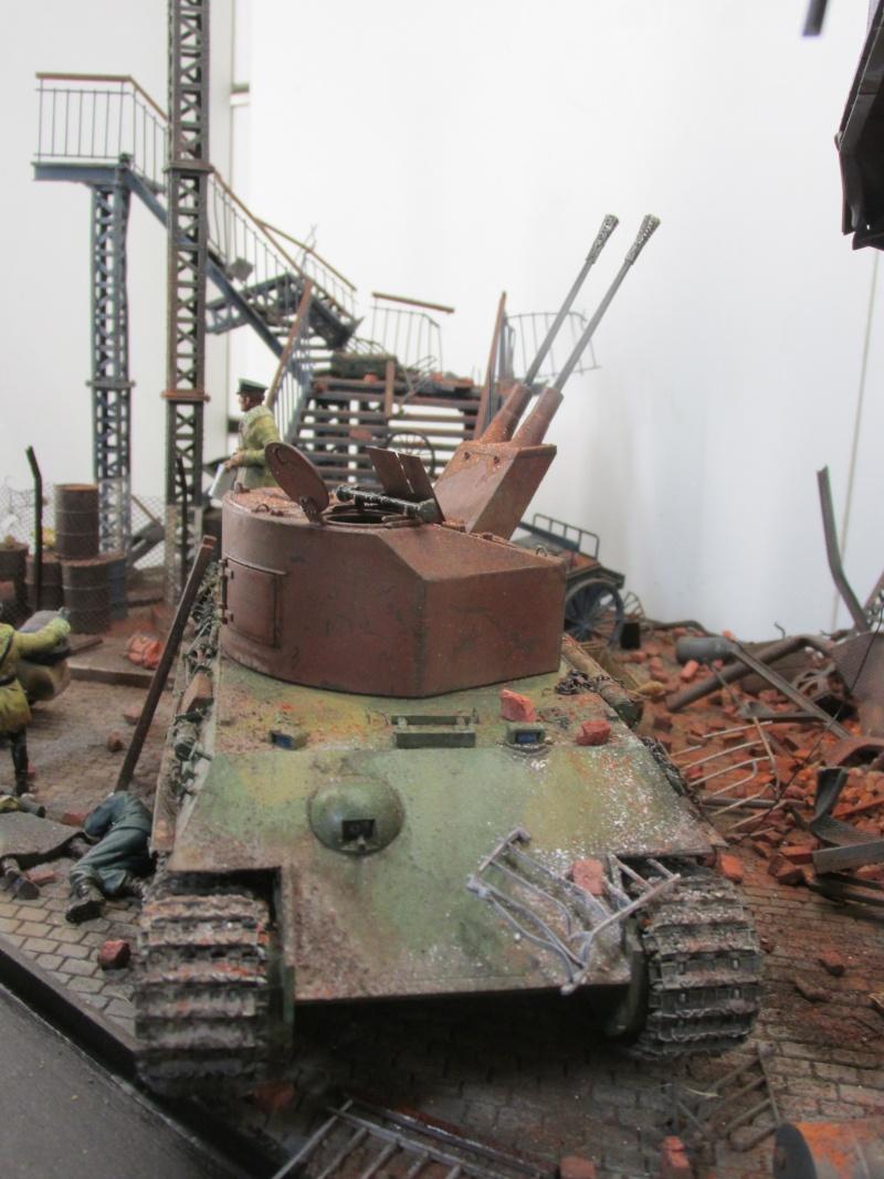 Flakpanzer V Coelian - Dragon 1/35 ref 9022 - photodécoupe Eduard - Page 10 Berlin17