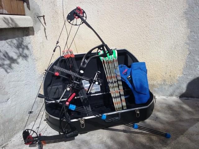 [A VENDRE] Arc Poulies Droitier PSE + accessoires 20160313