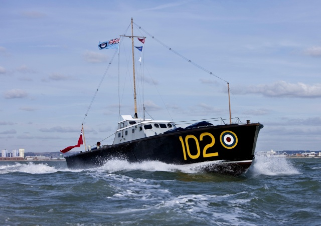 """L'équipage des """"Marins"""" des High Speed launch de la RAF Hs-10211"""