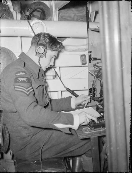 """L'équipage des """"Marins"""" des High Speed launch de la RAF Hsl310"""
