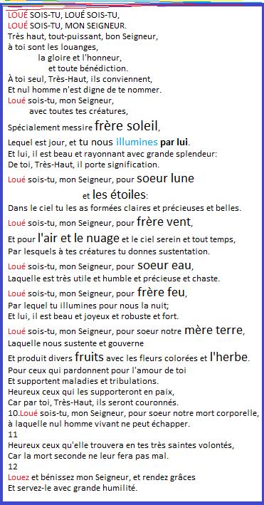 Lexique sur la PRIÈRE et lexique HISTORIQUE des SAINTS - Page 2 Cantiq10