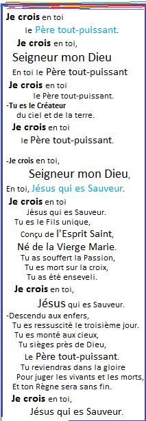 La Bonne Nouvelle du Christ annoncée à tous les Peuples! - Page 5 Je_cro12