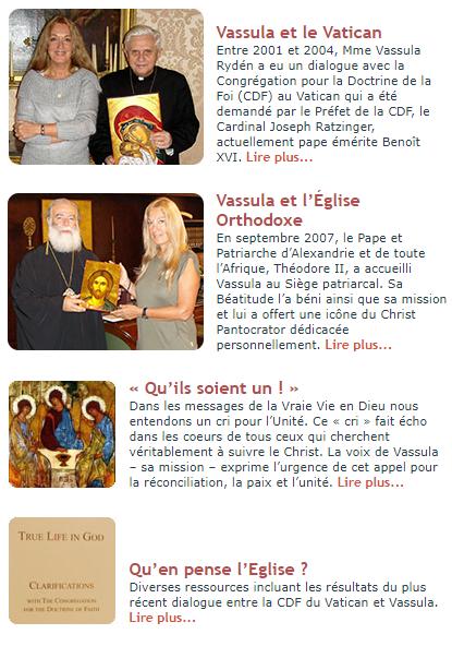 D'ores et désormais  parmi les plus grands catéchismes au monde... Vassul11
