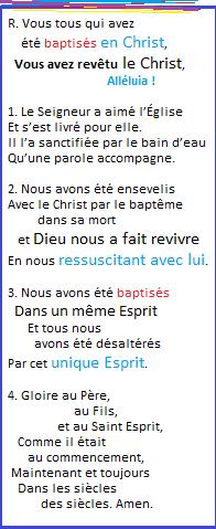 La Bonne Nouvelle du Christ annoncée à tous les Peuples. - Page 27 Vous_t10