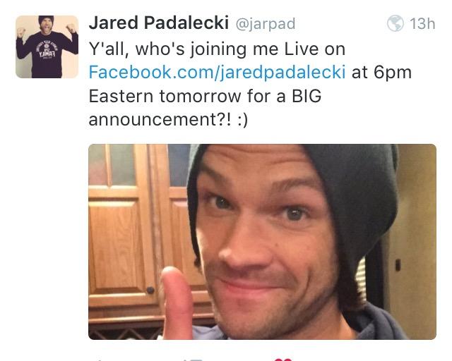 Le Twitter/FB/Insta de Jared et Gen #2 - Page 21 Image10
