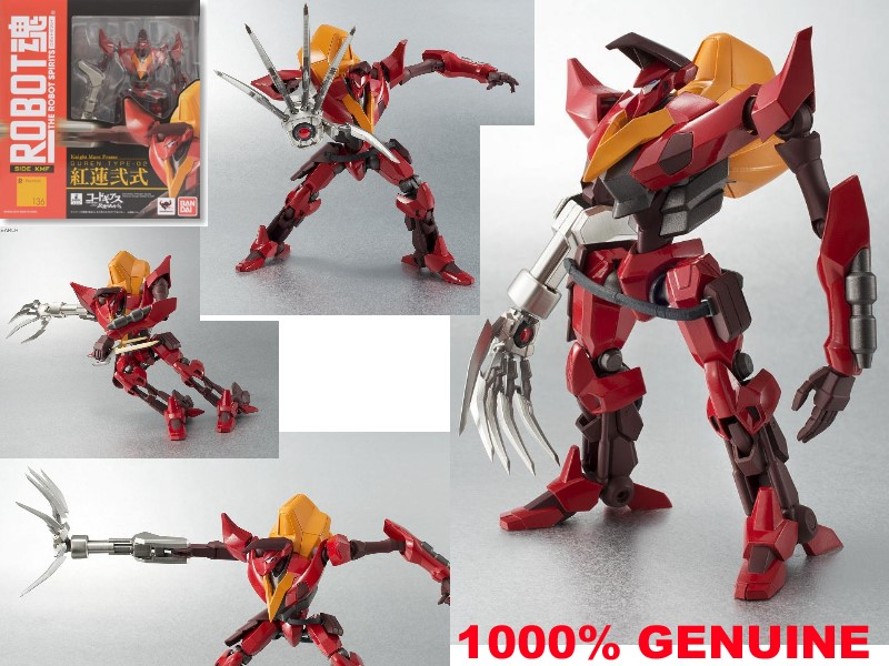 cerco bandai robot spirits guren r136 Guren_10