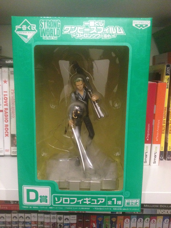 Action figure one piece zoro strong world Img_0710
