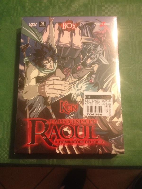 La leggenda di raoul il dominatore dei cieli (box dvd) nuovo Img_0912