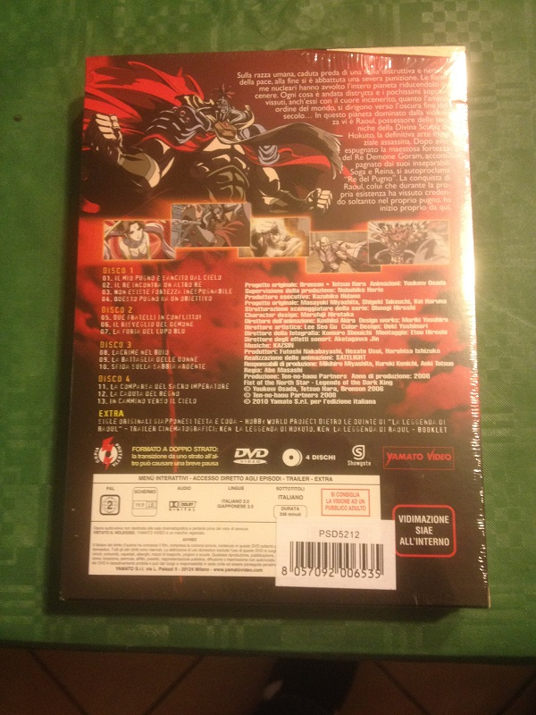 La leggenda di raoul il dominatore dei cieli (box dvd) nuovo Img_0913