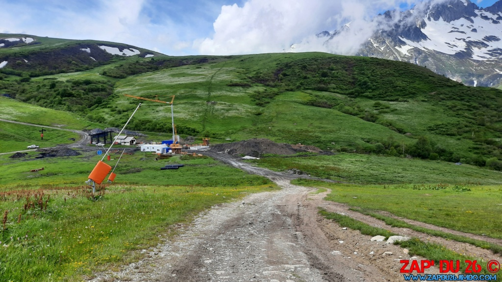 Construction des TSD6 du Mottet et de Biollène - Valmorel 20200628