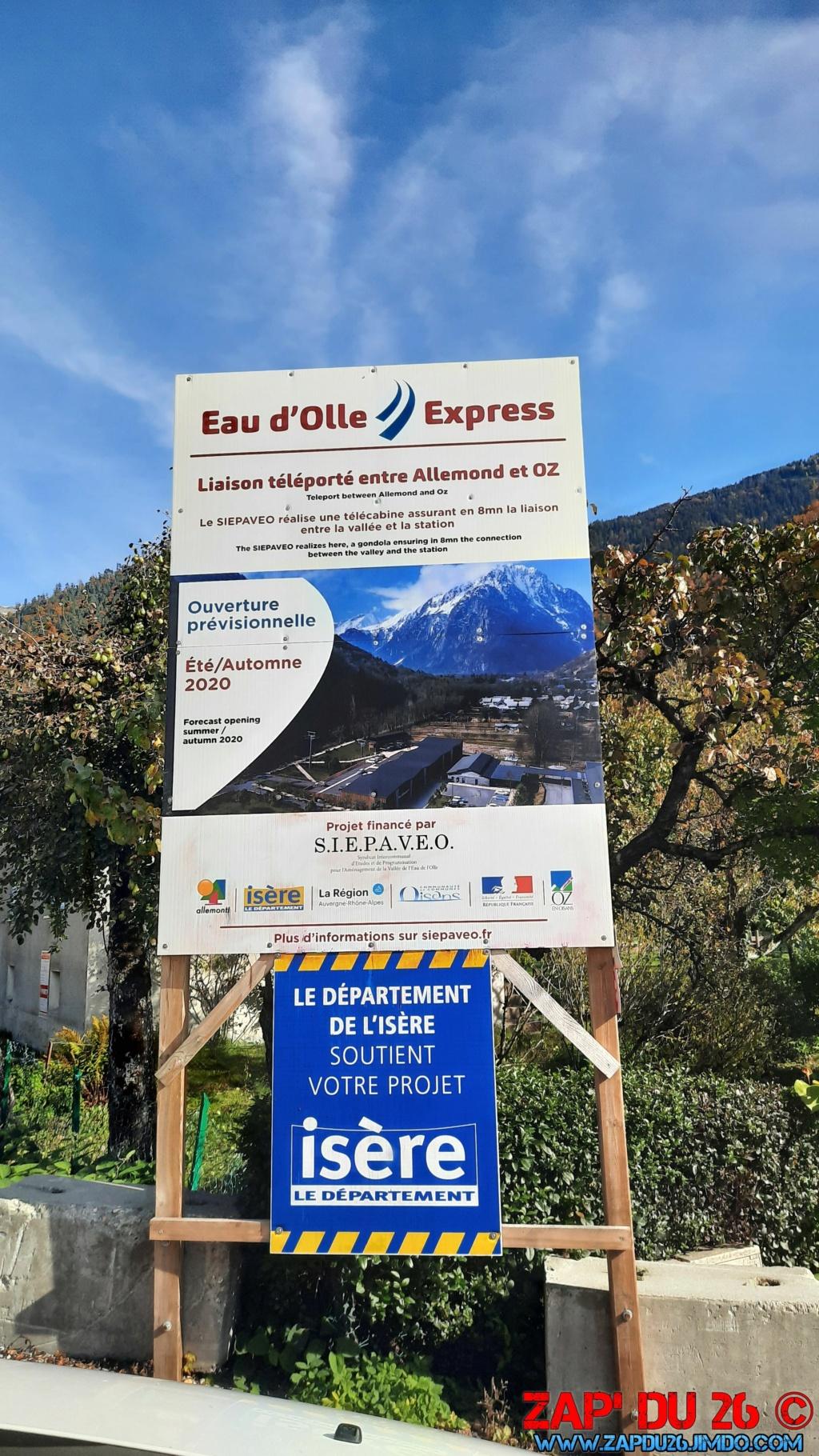Construction télécabine débrayable (TCD10) Eau d'Olle Express - Oz 20201010