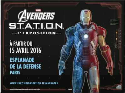 15/04/2016 L'expo Marvel Avengers S.T.A.T.I.O.N, Esplanade La Défense - PARIS Expo-a10