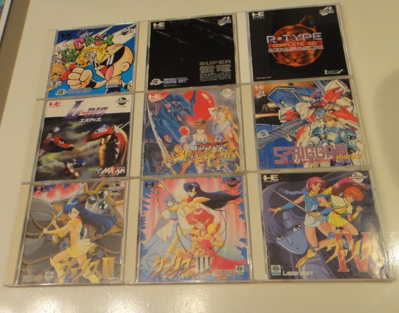 Vente de jeux Saturn et Pc engine CD Lot_pc10