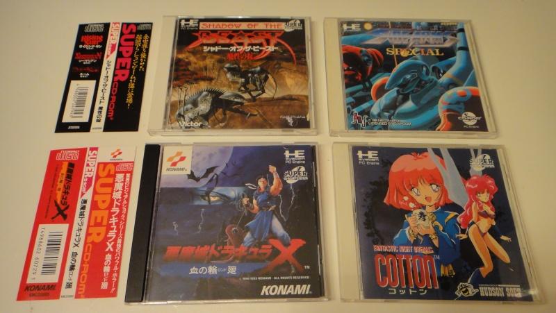 Vente de jeux Saturn et Pc engine CD Lot_pc11