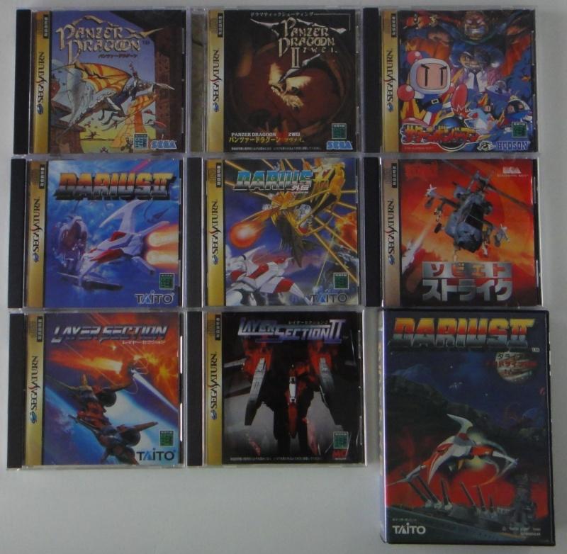 Vente de jeux Saturn et Pc engine CD Lot_sa10