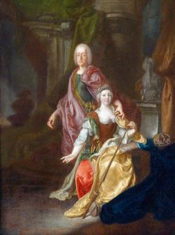 Marie-Antoinette et ses parents au Château de Lunéville 08a65410