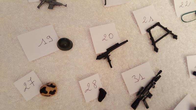 MAJ Identification Accessoires figurines GI JOE HELP ME 20160341