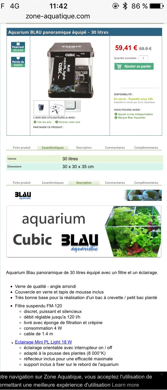 Avis sur aquarium blau  Image11