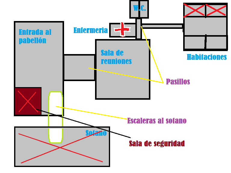 Mapa del Pabellón Militar 371 Mapa_i10