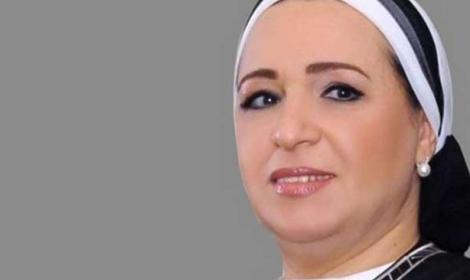 انتصارزوجة السيسي تثير جدل مواطني الأقصر Unname10