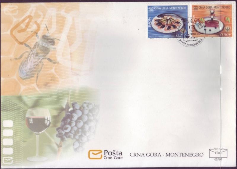 "Montenegro - EUROPA 2005 ""Gastronomy"": 1-200512"