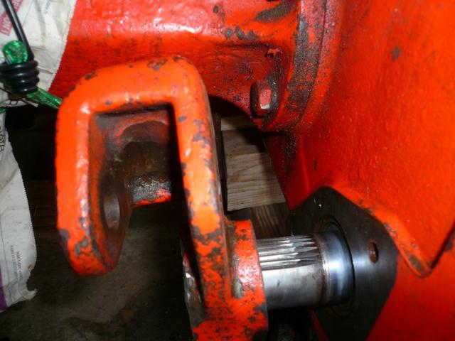 Réparation du tracto control d'effort de mon Renault 60 P1020911