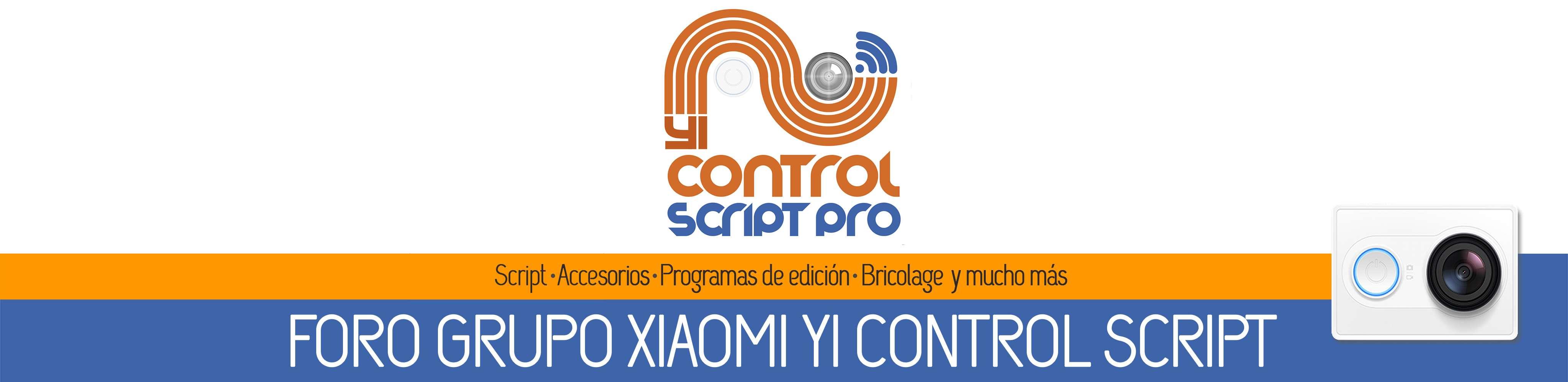 Grupo Xiaomi Yi Action en Español