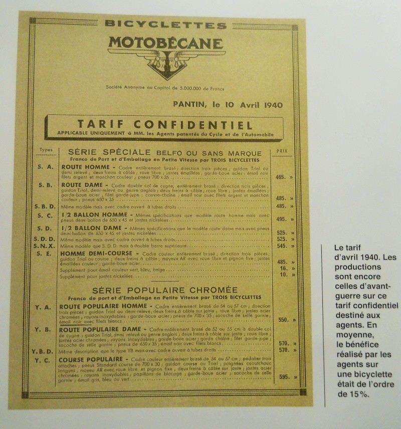 MoTobécane bnx 1940-41 cadre bi-tubes 3 vitesses .  Dscn7730