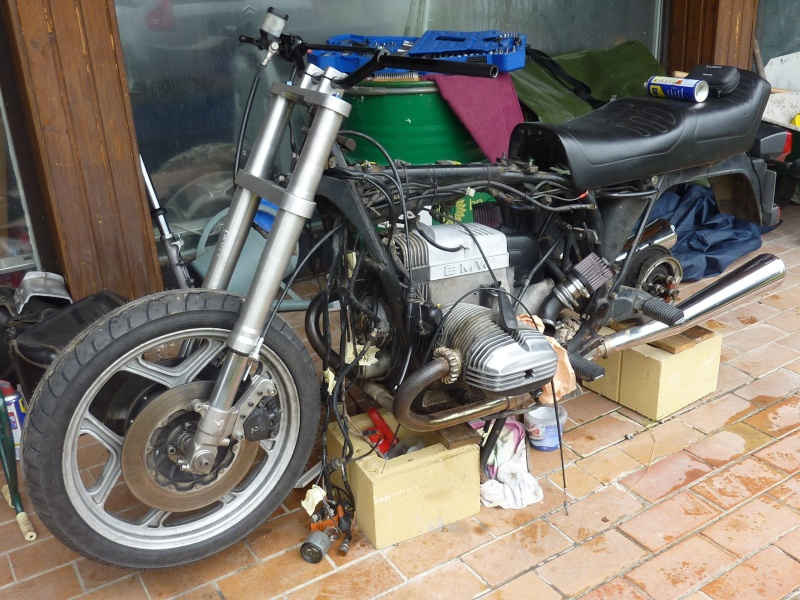 "R80RT Monolever, histoire d'une grosse transfo ""Evergreenbike"" - Page 3 P1050127"