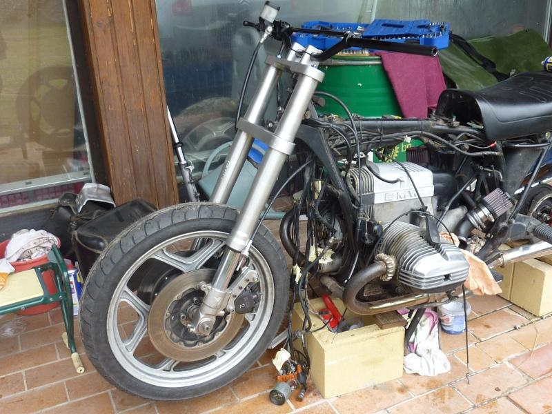 "R80RT Monolever, histoire d'une grosse transfo ""Evergreenbike"" - Page 3 P1050128"