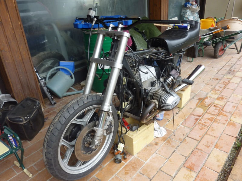 "R80RT Monolever, histoire d'une grosse transfo ""Evergreenbike"" - Page 3 P1050129"