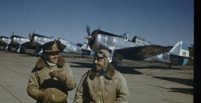 Les nouvelles du front  – janvier 1941, 1ère quinzaine Curtis11