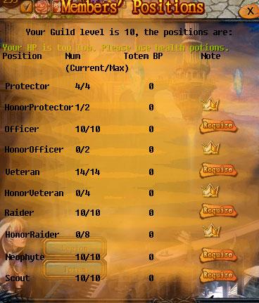 [FEATURE] Legion Organization Types! Guild10