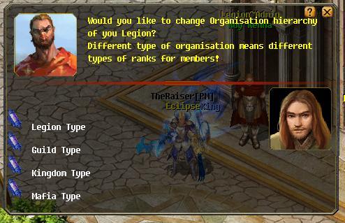 [FEATURE] Legion Organization Types! Leg210